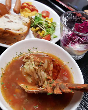 海人スタイル奄美のお食事