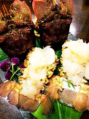 海人スタイル奄美のお食事|幻の海老「セミエビ」
